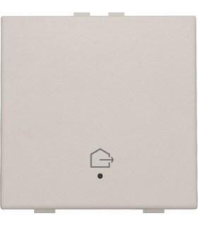 Enkelvoudige bediening woning verlaten, light grey - 102-52901 - Niko Home Control