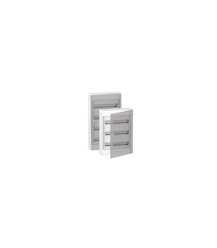 Verdeelkast 72 modules - doorzichtige deur