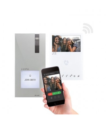 Comelit Quadra kit met Mini handsfree - WIFI -  8451V