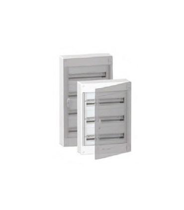 Verdeelkast 96 modules - doorzichtige deur - BOXPLUS24410