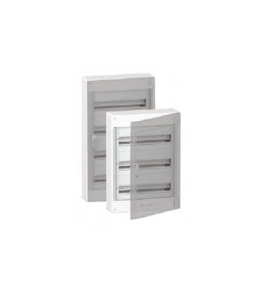 Verdeelkast 120modules - doorzichtige deur - BOXPLUS24510