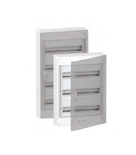 Verdeelkast 144 modules - doorzichtige deur - BOXPLUS24610