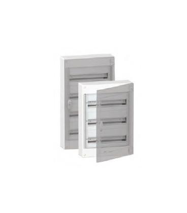 Verdeelkast 144 modules - doorzichtige deur