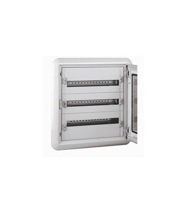 Isolerende wandverdeelkast - 3 rijen - 72 modules + metalen deur - Legrand 020053