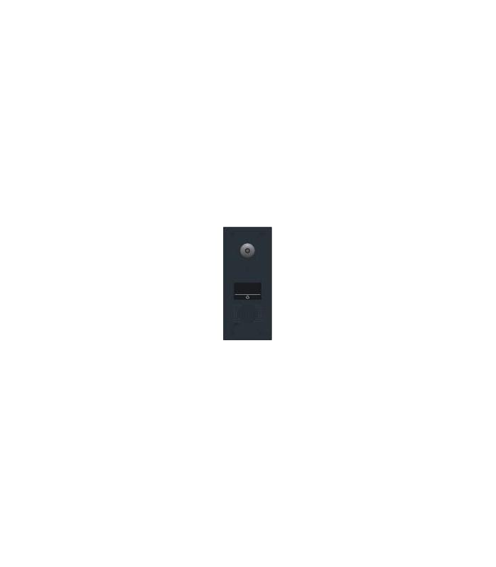 Videofoon buitenpost met 1 beldrukknop