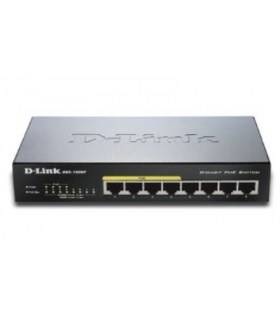 POE switch - 8 poorten
