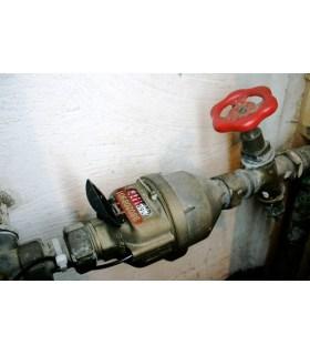 Pulsgever voor gasmeter