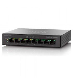 Cisco SG100D08P - 8 ports POE switch waarvan 4 poorten POE