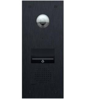 Videofoon verlichte buitenpost met 1 beldrukknop - 550-22001