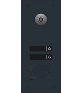 Verlichte buitenpost met 2 beldrukknoppen - 550-22002