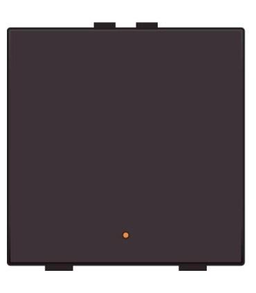 Enkelvoudige lichtbediening met led - Chocolate Coated - 201-52001