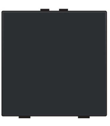 Niko Home Control Enkelvoudige lichtbediening, Bakelite-Look Piano Black Coated - 200-51001