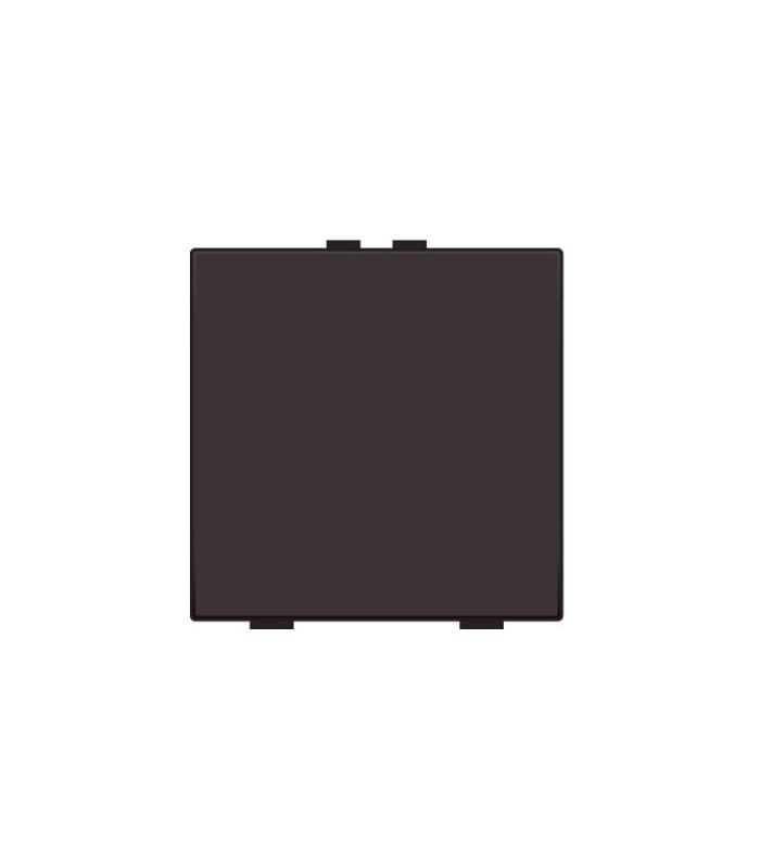 Niko Home Control Enkelvoudige lichtbediening, Bakelite-Look Chocolate Coated - 201-51001