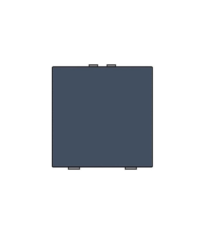 Niko Home Control Enkelvoudige lichtbediening, Alu-Look Steel Grey - 220-51001
