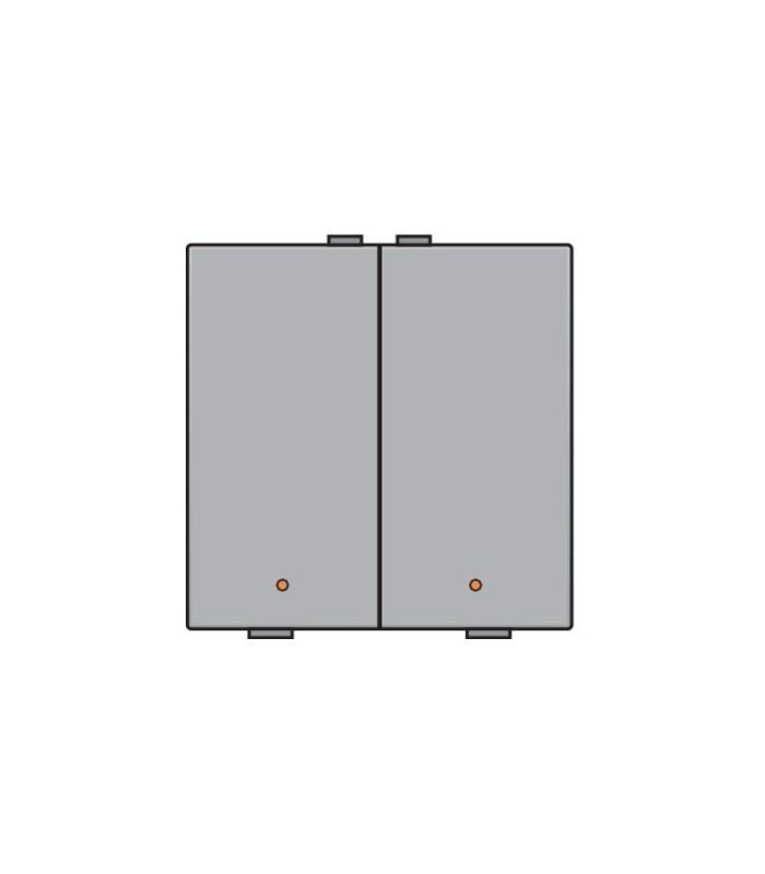Tweevoudige lichtbediening met led, Sterling - 121-52002