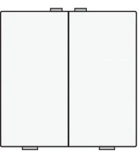 Tweevoudige lichtbediening, Wit - 101-51002 - Niko Home Control