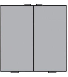 Tweevoudige lichtbediening, Sterling - 121-51002 - Niko Home Control