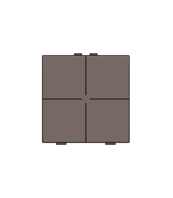 Viervoudige lichtbediening, Greige - 104-51004 - Niko Home Control