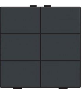 Zesvoudige lichtbediening, Anthracite - 122-51006 - Niko Home Control