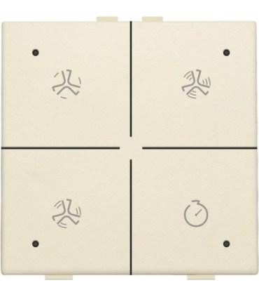 Ventilatiebediening met led, Creme - 100-52054 - Niko Home Control
