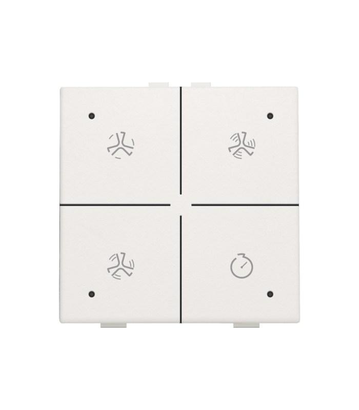 Ventilatiebediening met led, Wit - 101-52054 - Niko Home Control