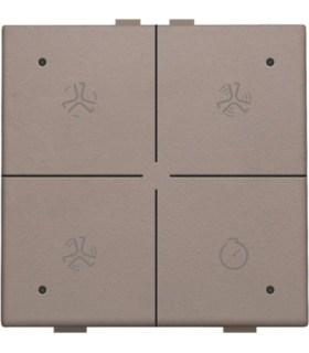 Ventilatiebediening met led, Greige - 104-52054 - Niko Home Control