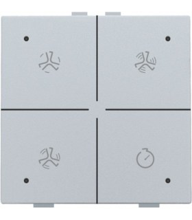 Ventilatiebediening met led, Sterling - 121-52054 - Niko Home Control