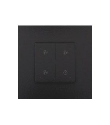 Ventilatiebediening met led, Piano Black Coated - 200-52054 - Niko Home Control