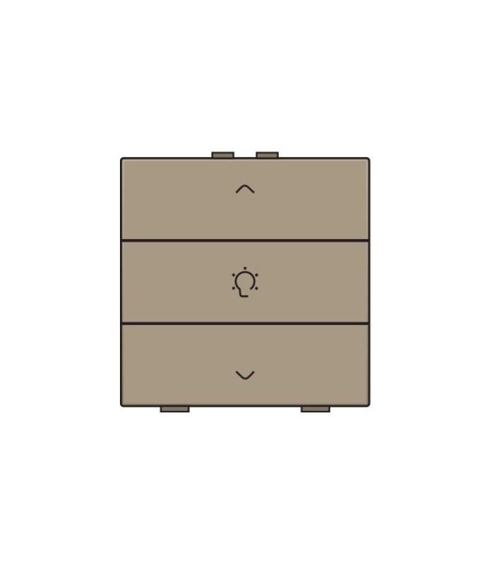 Enkelvoudige dimbediening, Bronze - 123-51043 - Niko Home Control