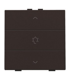 Enkelvoudige dimbediening, Dark Brown - 124-51043 - Niko Home Control