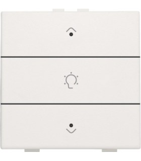 Single dimming control with LED, White - 101-52043 - Niko Home Control