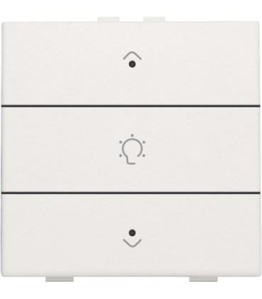 Enkelvoudige dimbediening met led, Wit - 101-52043 - Niko Home Control