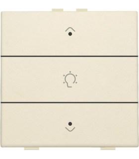 Enkelvoudige dimbediening met led, Creme - 100-52043 - Niko Home Control