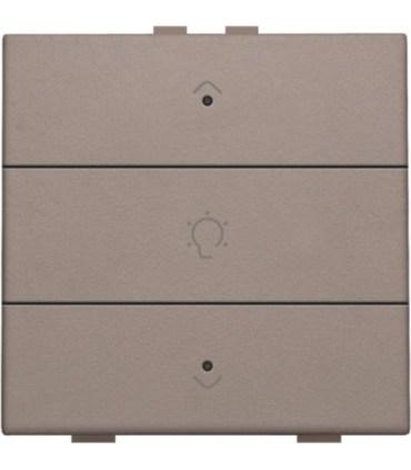 Enkelvoudige dimbediening met led, Greige - 104-52043 - Niko Home Control