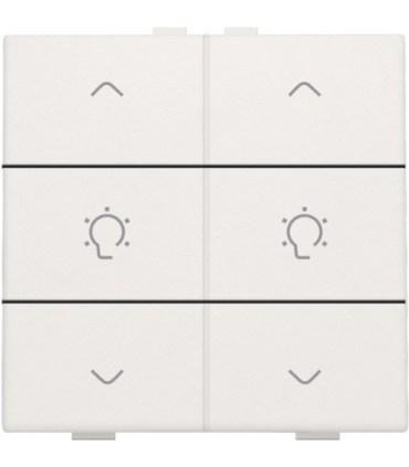 Tweevoudige dimbediening, Wit - 101-51046 - Niko Home Control