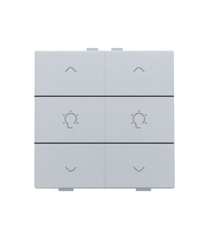 Tweevoudige dimbediening, Sterling - 121-51046 - Niko Home Control