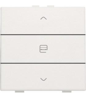 Enkelvoudige motorbediening, wit - 101-51033 - Niko Home Control