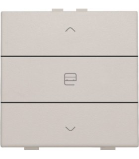 Enkelvoudige motorbediening, Light Grey - 102-51033 - Niko Home Control