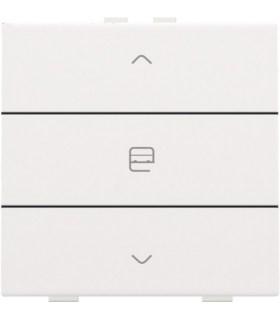 Enkelvoudige motorbediening, White Coated - 154-51033 - Niko Home Control