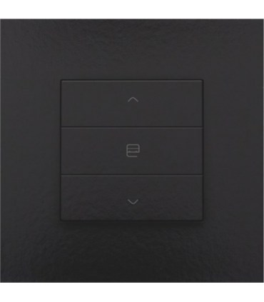Enkelvoudige motorbediening, Piano Black Coated - 200-51033 - Niko Home Control