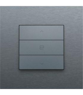 Enkelvoudige motorbediening, Steel Grey - 220-51033 - Niko Home Control