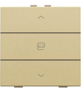 Enkelvoudige motorbediening, Gold - 221-51033 - Niko Home Control