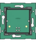 wall-mounted printed circuit board with connector