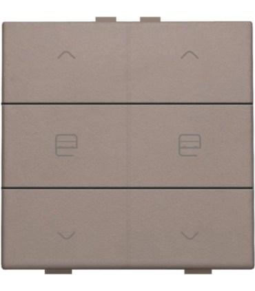 Tweevoudige motorbediening, greige - 104-51036 - Niko Home control