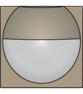 Afwerkingsset voor binnenbewegingsmelder, Bronze - 123-55511