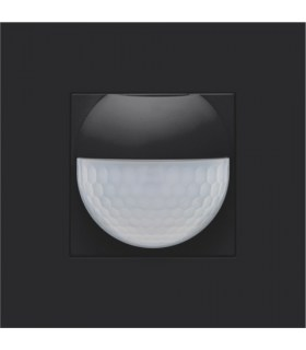 Finishing set for indoor motion detector, Black Coated - 161-55511