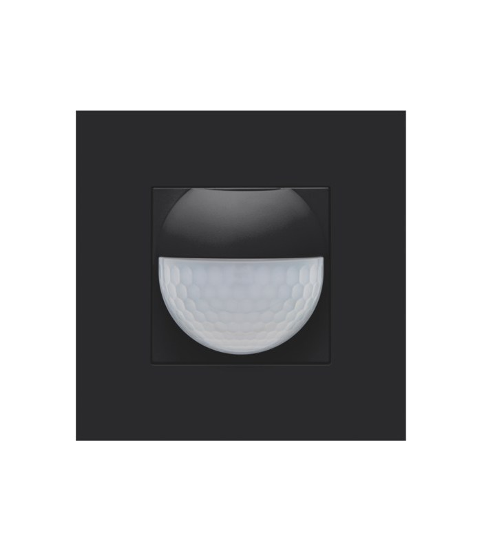 Afwerkingsset voor binnenbewegingsmelder, Black Coated - 161-55511
