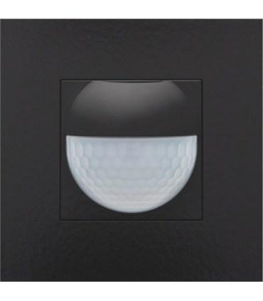 Afwerkingsset voor binnenbewegingsmelder, Piano Black Coated - 200-55511