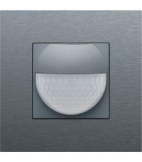 Afwerkingsset voor binnenbewegingsmelder, Alu-Look Steel Grey - 220-55511