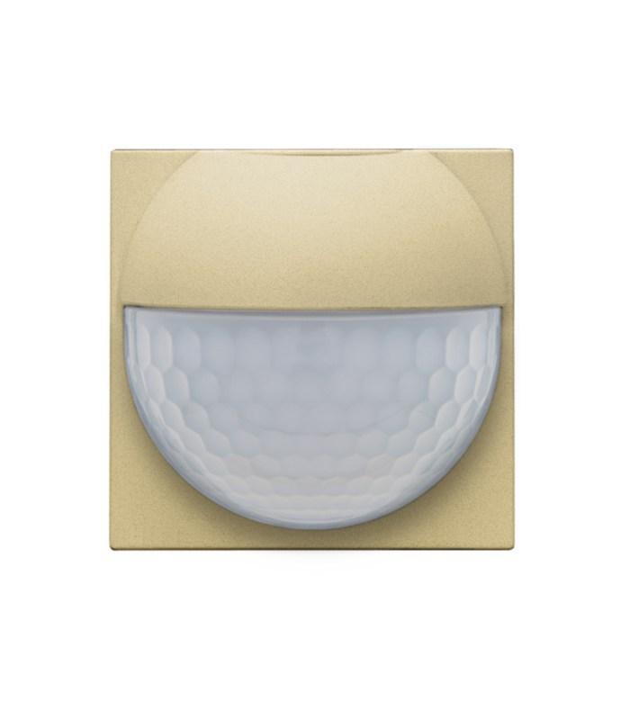 Afwerkingsset voor binnenbewegingsmelder, Alu-Look Gold - 221-55511